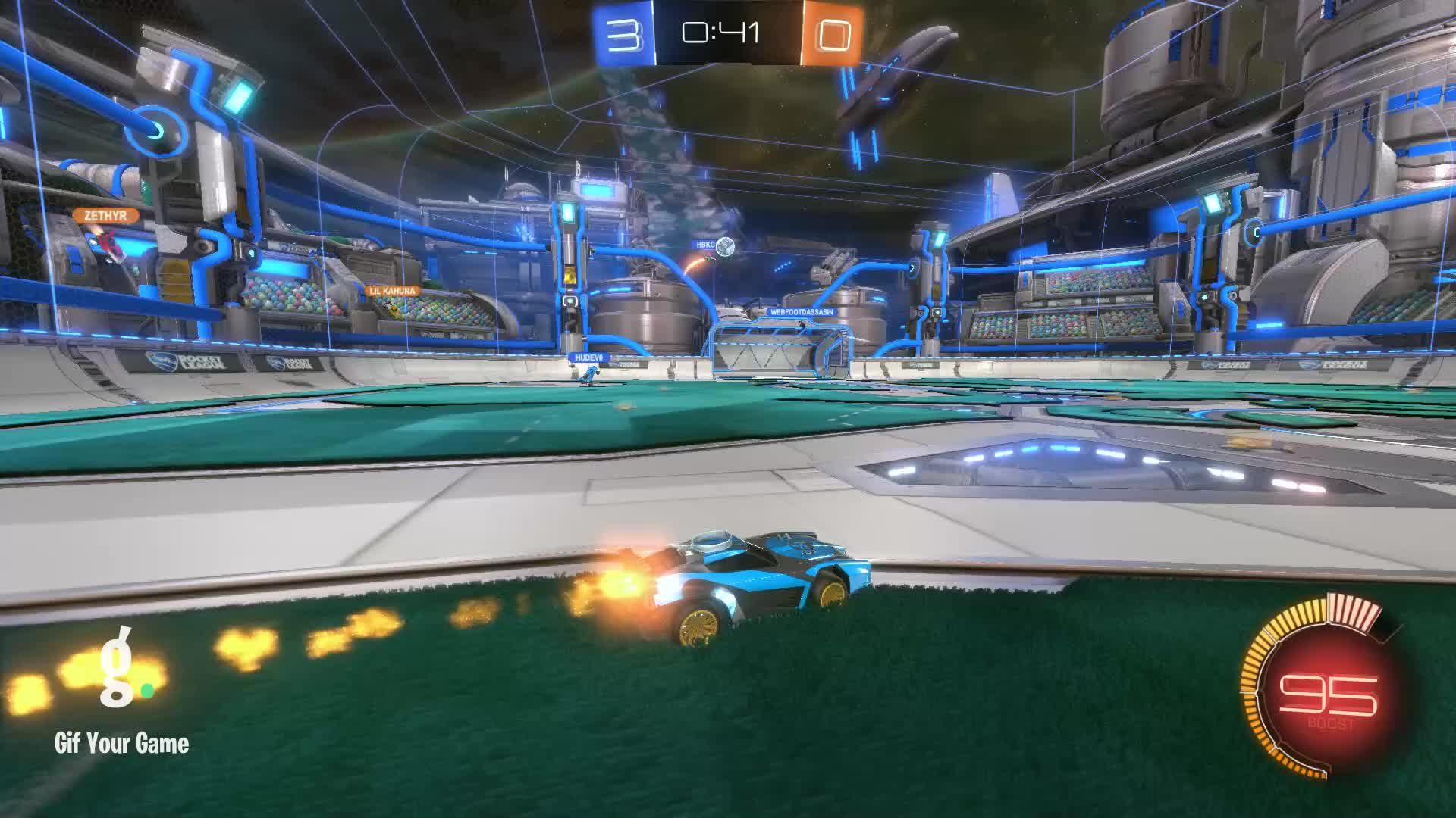 Assist, Gif Your Game, GifYourGame, Moki, Rocket League, RocketLeague, Assist 2: Moki GIFs
