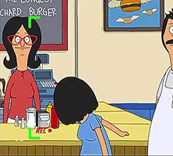 Watch and share Louise Belcher GIFs and Bob's Burgers GIFs on Gfycat