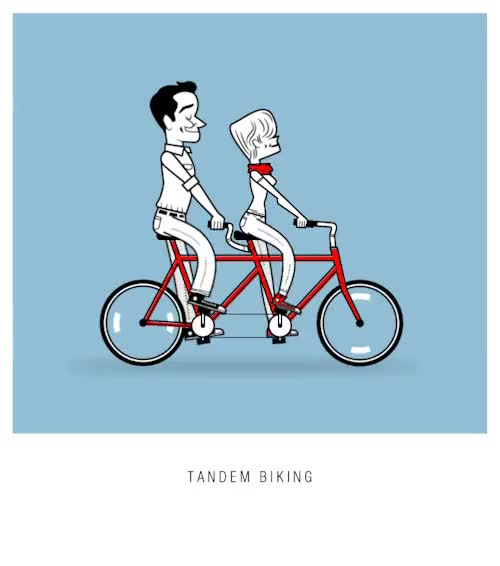 Watch and share Tandem Bike GIFs and Animation GIFs on Gfycat