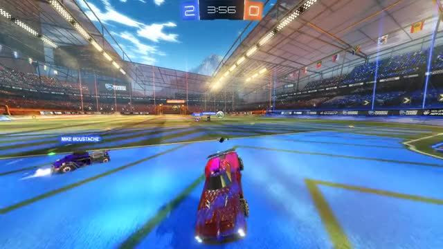 Watch and share Rocket League GIFs and Blind Goal GIFs by wandelation on Gfycat