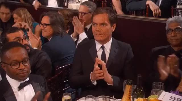 Watch and share Michael Shannon GIFs and Slow Clap GIFs on Gfycat
