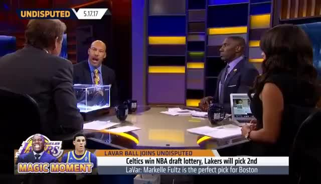 Watch and share LaVar Ball Doesn't Want The Boston Celtics To Take Lonzo In The 2017 NBA Draft | UNDISPUTED GIFs on Gfycat