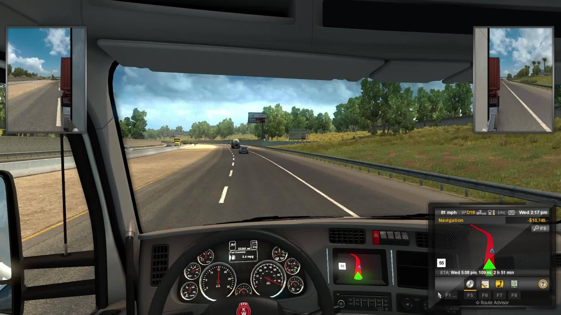 american truck simulator, First Day Trucking GIFs
