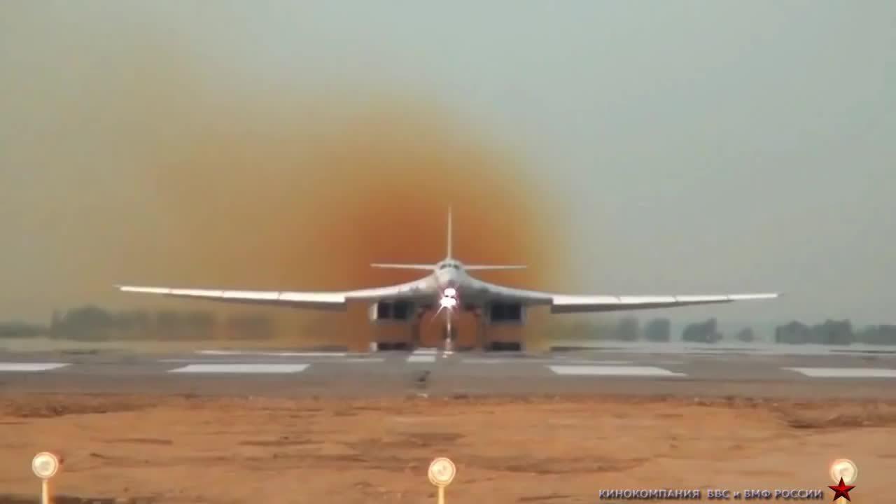 aviationgifs, militarygfys, Tu-160 takeoff GIFs