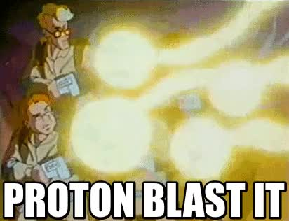 Watch and share Proton Blast It | Kill It With Fire GIFs on Gfycat