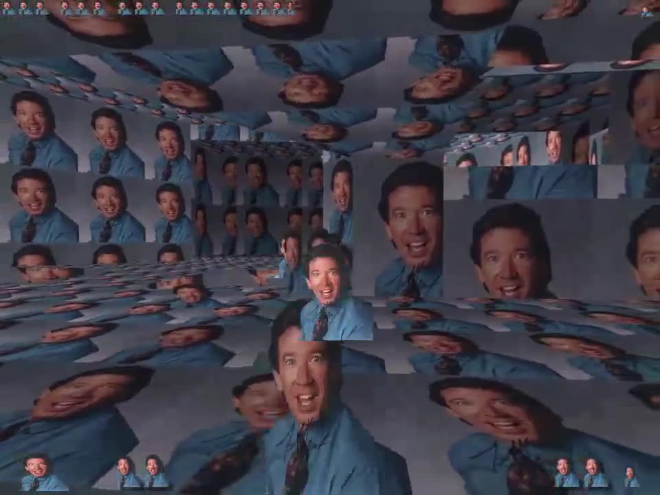 ofcoursethatsathing, planetside, DOOM mod that turns every texture into a signed picture of Tim Allen. GIFs