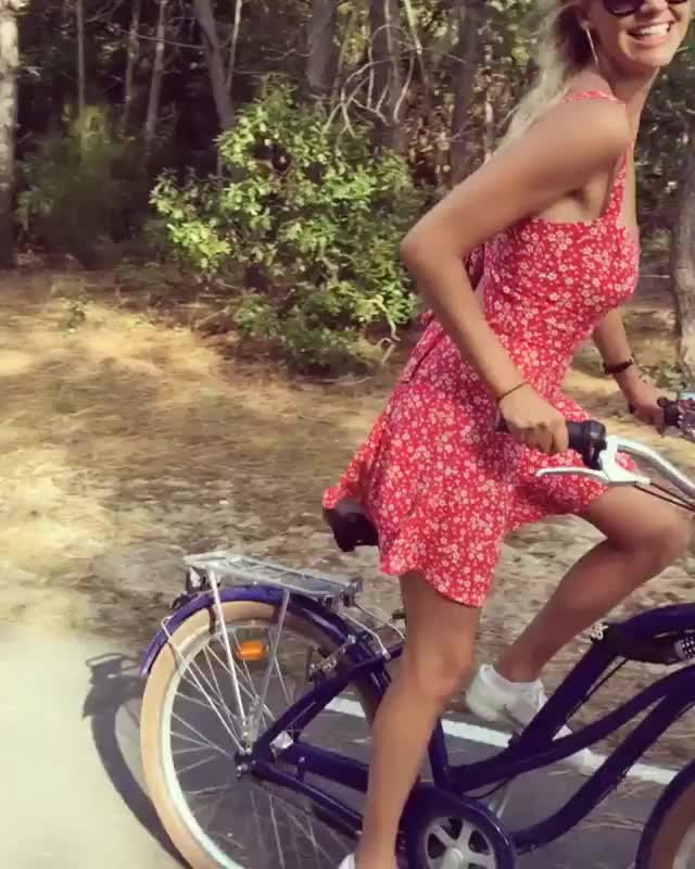 Watch and share Kelly Rohrbach GIFs and Bicycle GIFs by Ricky Bobby on Gfycat