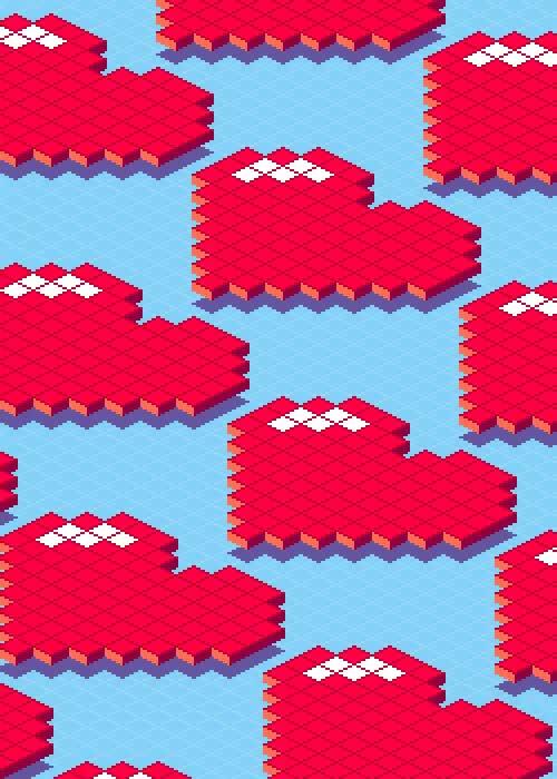 Watch and share Gif Heart Pixel Art Valentines Day 8-bit 8-bit Art Infinite Live GIFs on Gfycat