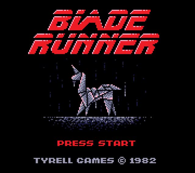 Watch and share Blade Runner GIFs and 8bit GIFs on Gfycat