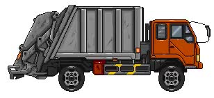 Watch and share Garbage Truck Idling animated stickers on Gfycat