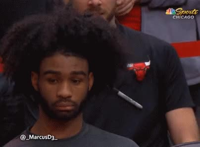 Watch and share Coby White Zoning Out GIFs by MarcusD on Gfycat
