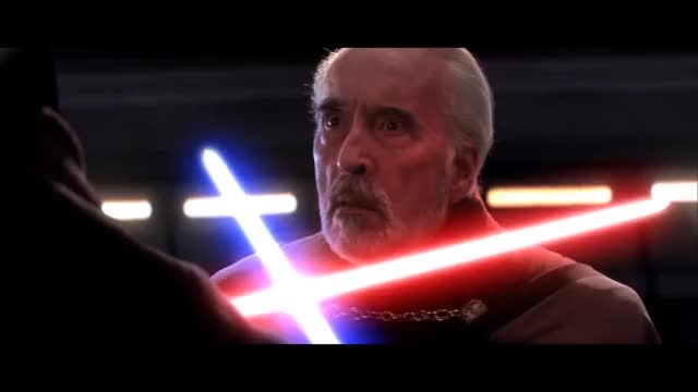 Watch and share Revenge Of The Sith GIFs and Christopher Lee GIFs on Gfycat