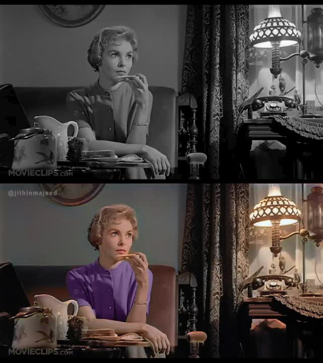 Watch and share Psycho Colorized GIFs on Gfycat
