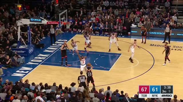 Watch and share New York Knicks GIFs and Toronto Raptors GIFs on Gfycat