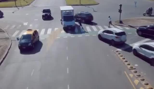 Watch Autonomous Intersection in Action GIF on Gfycat. Discover more related GIFs on Gfycat
