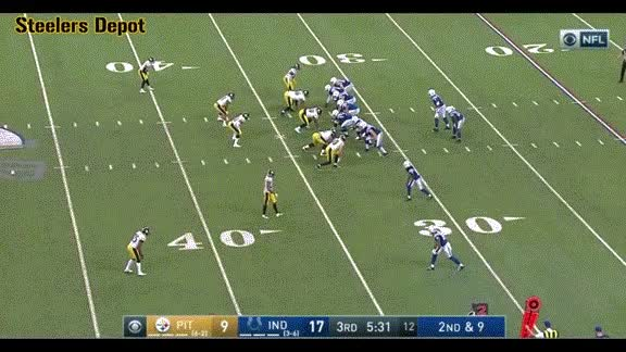 Watch and share Williams-fumble-colts GIFs on Gfycat