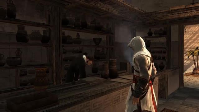 "Watch and share ""Assassin's Creed 1"", HD Walkthrough (100% + Subtitles), Memory Block 2: Traitor + Tamir (Damascus) GIFs on Gfycat"