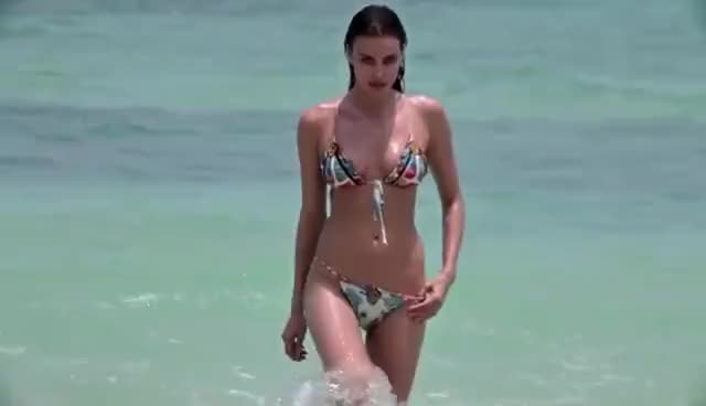 Watch and share Irina Shayk GIFs and Bikini GIFs on Gfycat