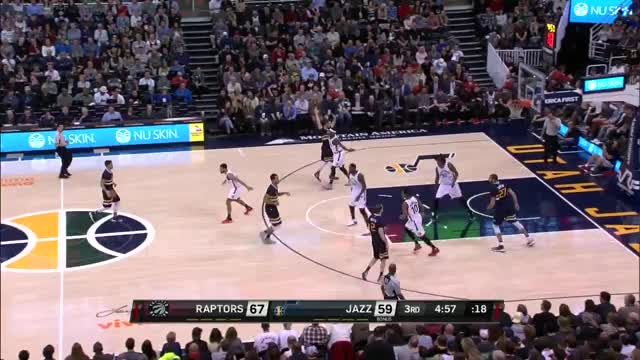 Watch and share Toronto Raptors  Utah Jazz (23.12.2016) GIFs on Gfycat