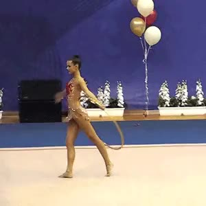 Watch and share Rhythmic Gymnastics GIFs and Flexibility GIFs on Gfycat