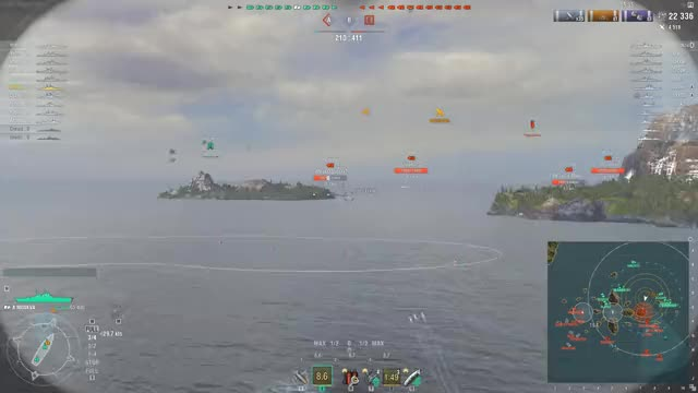Watch World of Warships 2019.03.04 - 19.41.52.10 GIF on Gfycat. Discover more worldofwarships GIFs on Gfycat