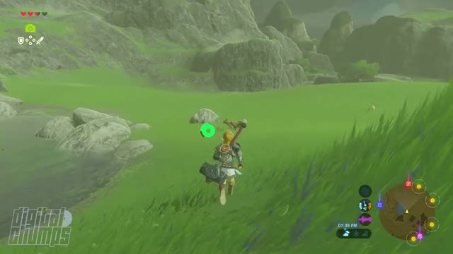 Watch The Legend of Zelda: Breath of the Wild - NEW SPOILER-FREE exploration footage [Part 2]! GIF on Gfycat. Discover more breath of the wild, the legend of zelda, zeldaphysics GIFs on Gfycat