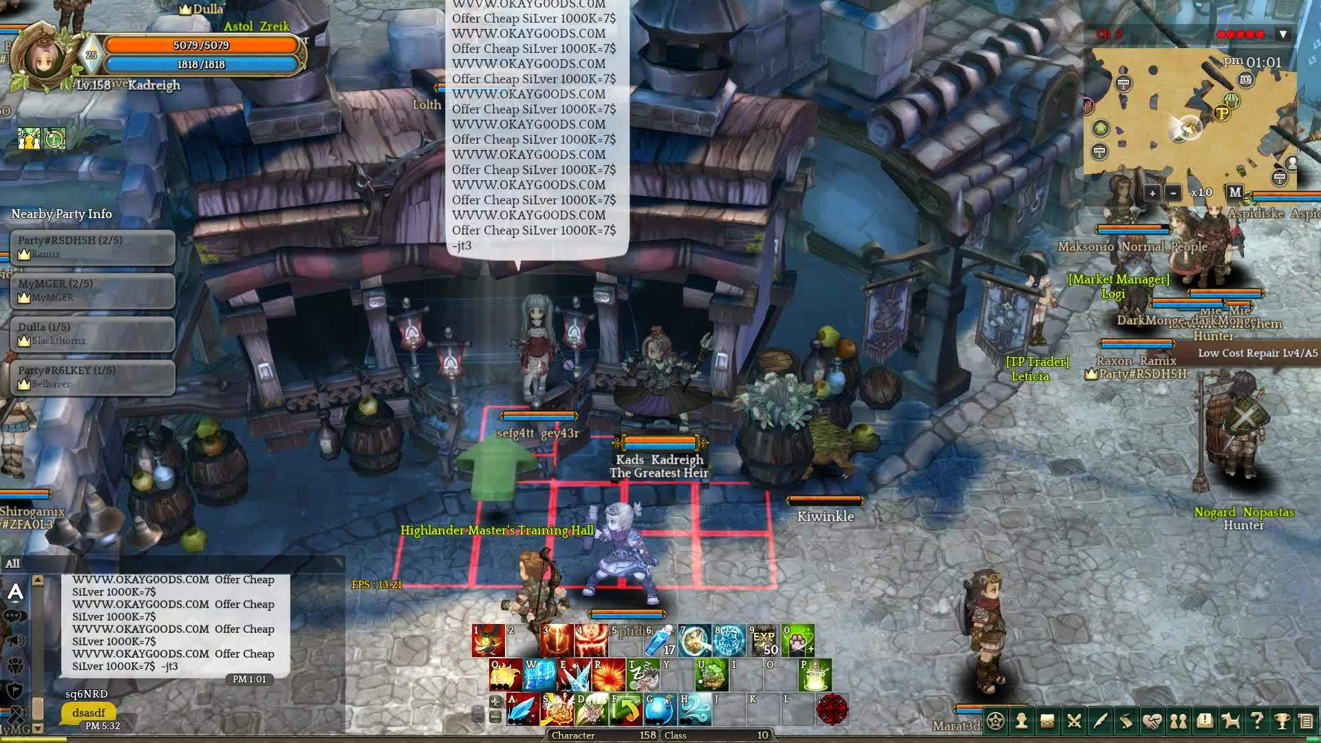 TOS, Troll, treeofsavior, Cleaning the streets of gold sellers GIFs