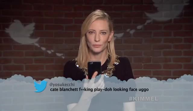 Watch and share Cate Blanchett Mean Tweets GIFs on Gfycat