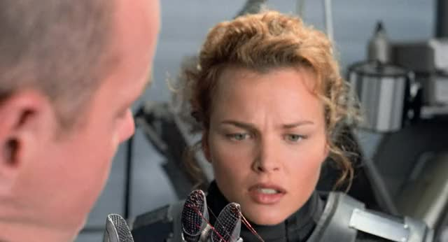Watch and share Starship Troopers GIFs and Dina Meyer GIFs by mckevstah on Gfycat
