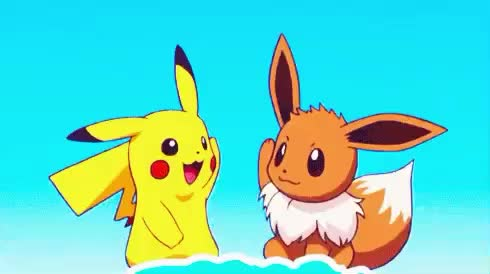 best, bff, bye, cute, five, friends, goodbye, happy, high, high5, pikachu, pokemon, sweet, Bye bye GIFs