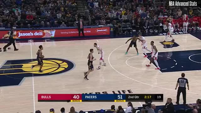 Watch and share Indiana Pacers GIFs and Chicago Bulls GIFs by rickyodonnell on Gfycat