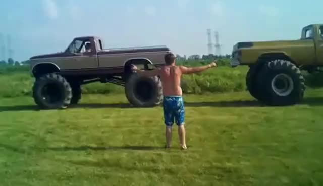 Watch Ford vs Chevy Truck Pull GIF on Gfycat. Discover more related GIFs on Gfycat