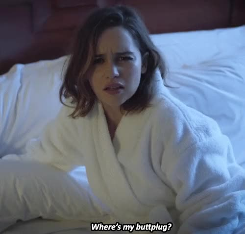 Watch and share Emilia Clarke GIFs by A Pretty Girl is Like a Melody on Gfycat