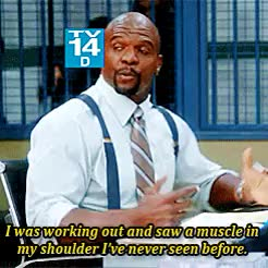 Watch Brooklyn Insider Terry Crews New Shoulder Muscle GIF on Gfycat. Discover more related GIFs on Gfycat