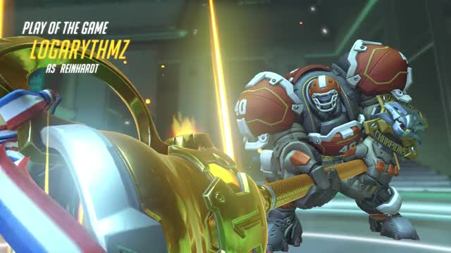 Watch and share Overwatch GIFs and Reinhardt GIFs by ... on Gfycat
