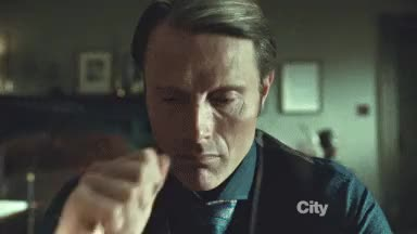 Watch almost angry mads mikkelsen GIF on Gfycat. Discover more related GIFs on Gfycat
