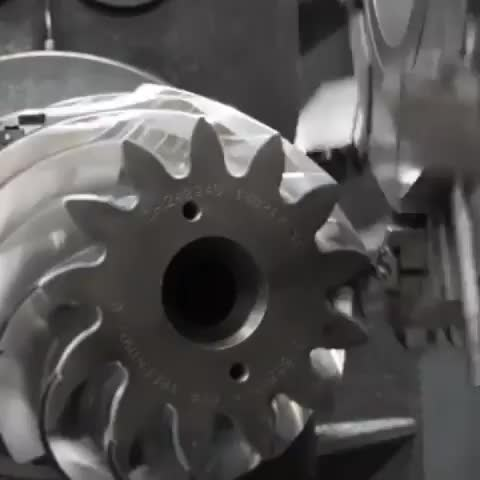 Watch and share Spiral Bevel Gear Cutting GIFs on Gfycat