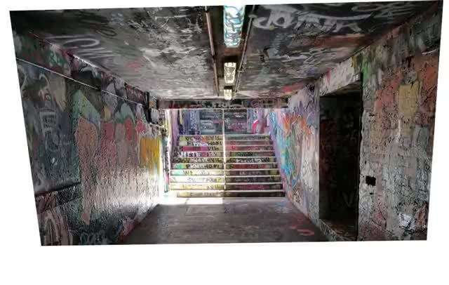 Watch and share A Year Of Graffiti Tunnel (@Sydney Uni) GIFs by gakman on Gfycat