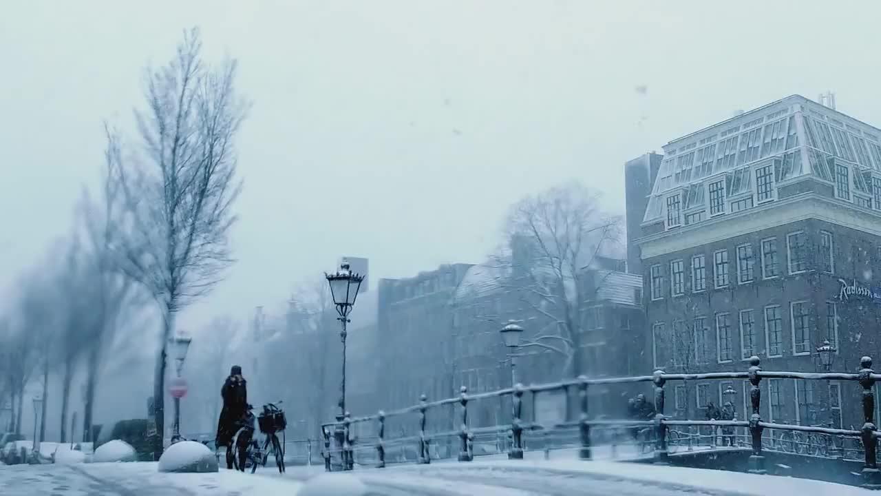 Gosse Bouma, amsterdam, sneeuw, SNOW in AMSTERDAM GIFs