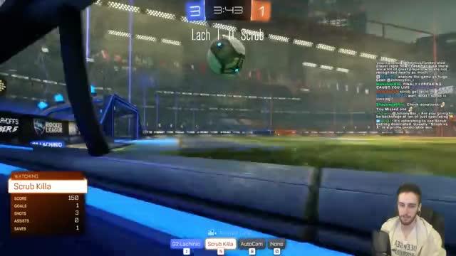 Watch Lachinio vs Scrub Killa | 1v1 Showmatch GIF by Fancyduck (@doommaker) on Gfycat. Discover more games, rocketleague, twitch GIFs on Gfycat