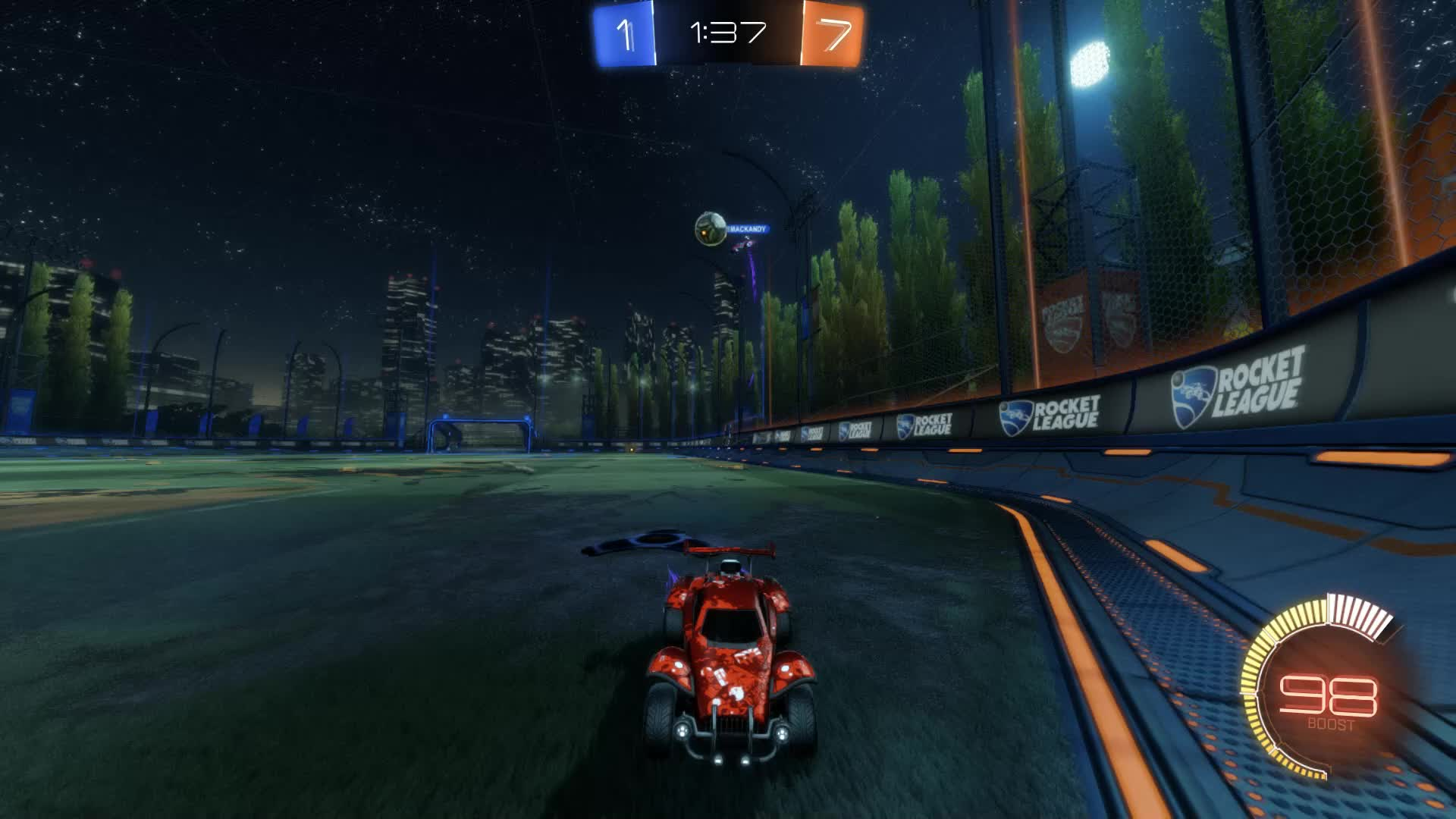 Gif Your Game, GifYourGame, Goal, Nyhx, Rocket League, RocketLeague, ⏱️ Goal 9: Nyhx GIFs