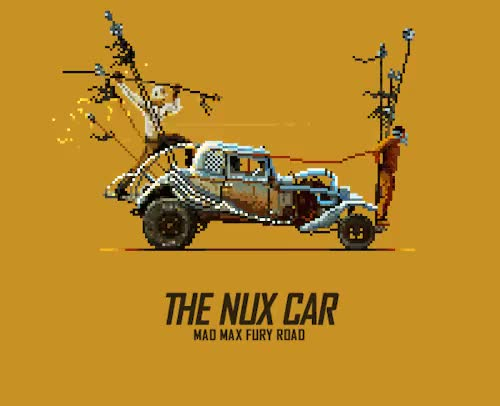 Watch and share Mad Max Fury Road GIFs and 8bit GIFs on Gfycat