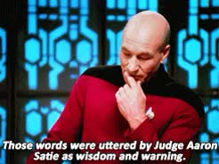 Watch and share Patrick Stewart GIFs and Jean Luc Picard GIFs on Gfycat