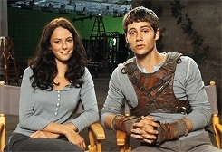 **, dylan o'brien, kaya scodelario, the maze runner cast, We are the foxes GIFs