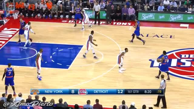 Watch and share Joakim Noah Airballs A Jumpshot | Knicks Vs Pistons | November 1, 2016 | 2016-17 NBA Season GIFs on Gfycat