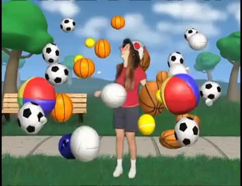 Watch and share Spanish For Kids - Balls (Sports) - Pelotas GIFs on Gfycat