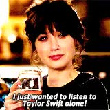 Watch and share Zooey Deschanel GIFs and Taylor Swift GIFs on Gfycat