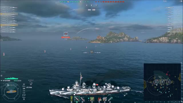 Watch and share World Of Warships GIFs and Fletcher GIFs by ajappat on Gfycat