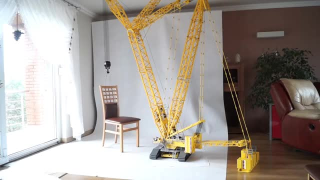 Watch LEGO Liebherr LR 11000 GIF on Gfycat. Discover more related GIFs on Gfycat