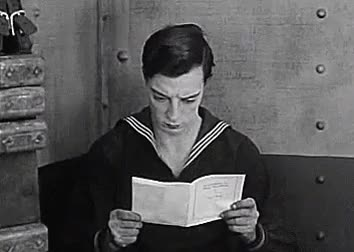 Watch and share Buster Keaton Gif GIFs and Classic Hollywood GIFs on Gfycat